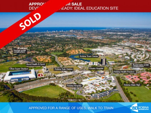 Aerial-Stadium Village Sites For Sale