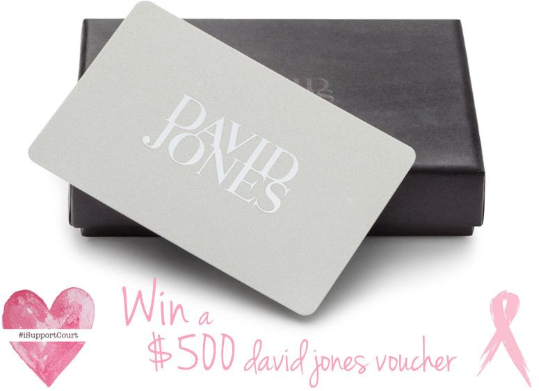 Win David Jones voucher