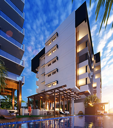 Boheme Apartments Pool
