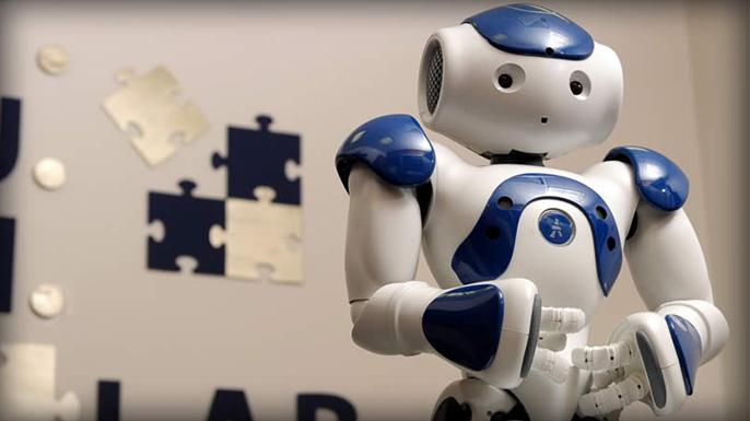 Bond Uni ASD research robot