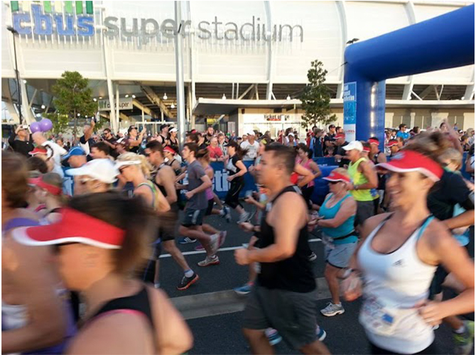 Gold Coast Bulletin Fun Run Stadium