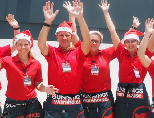 Bunnings Robina: Open in time to get your home Christmas & rellie ready