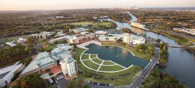 Bond University Aerial