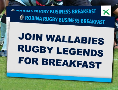 Join Wallabies greats at Robina Rugby Breakfast