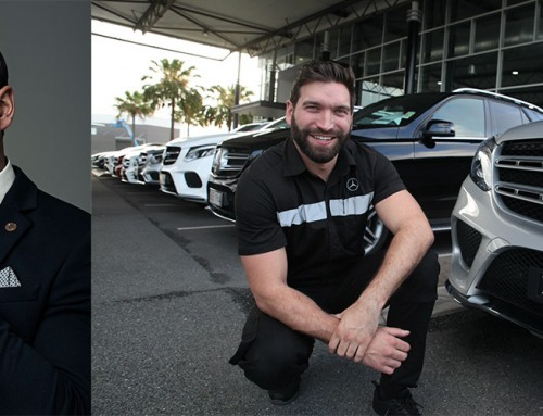 From the catwalk to the car yard – local in focus: Callum Casserly