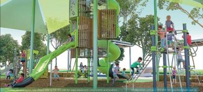 New Frascott Park playground