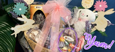 Easter Hamper Winner