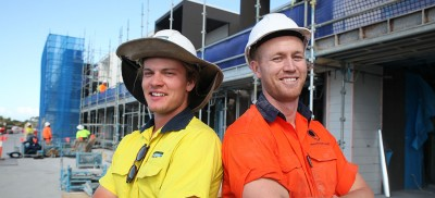 School of construction producing master apprentices in Robina