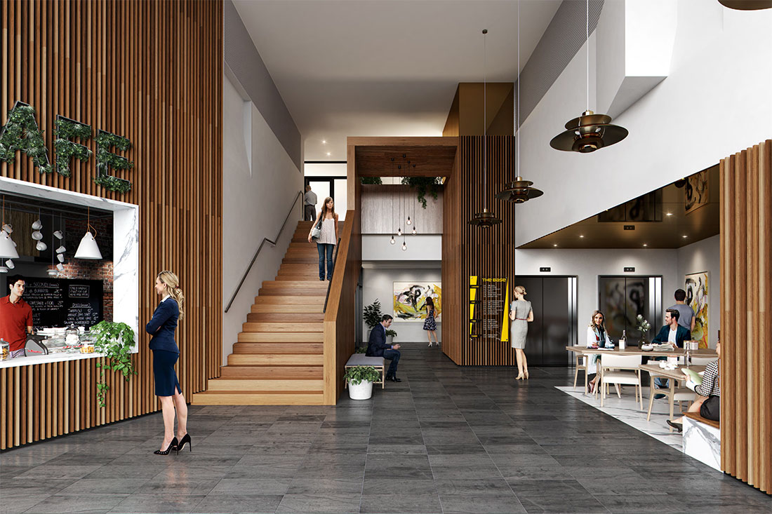 Office Foyer Ideas : The base office space for lease gold coast