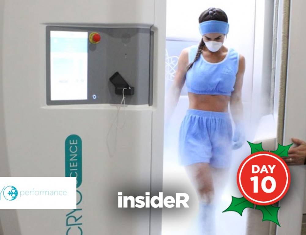 Day 10: Free Cryotherapy Session at Cryoperformance (worth $75)