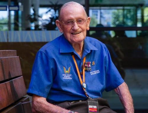 25 years of volunteering – Mervyn Murphy