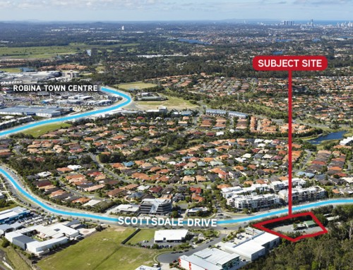 Approved commercial site for sale hits Gold Coast market