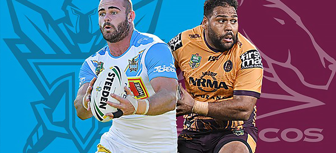 Gold Coast Titans vs Brisbane Broncos